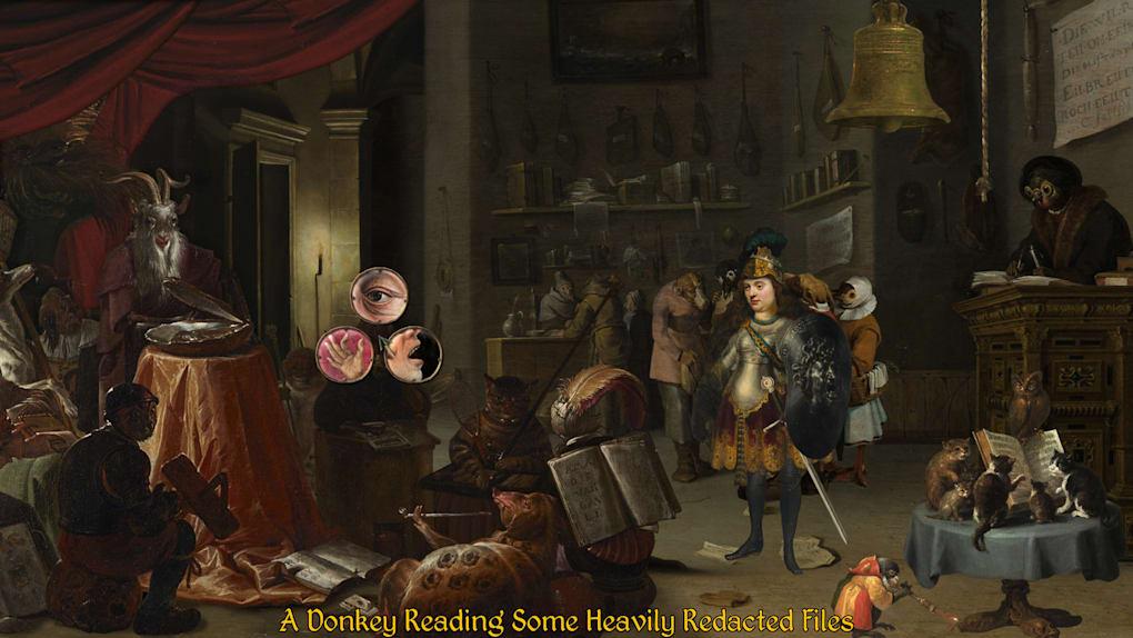 portada de The procession to calvary