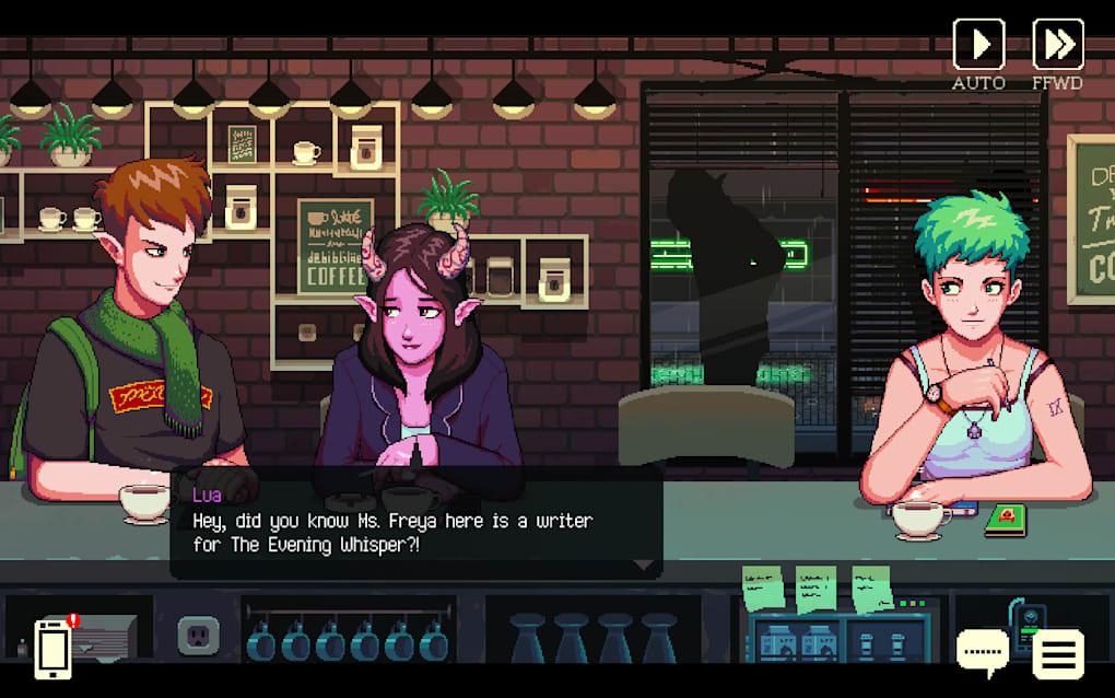 Gameplay Coffee Talk